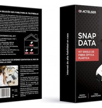 Kit para instalación de fibra óptica plástica a 1 GB