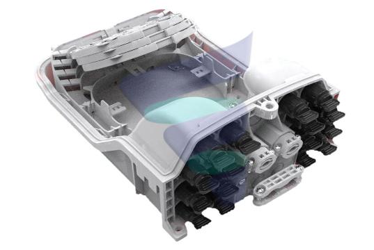 FAB-FTB-16SX Caja de terminación preconectorizada