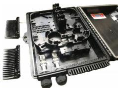FAB-HGT-16DG Caja preconectorizada de dieciséis puertos SC