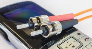 Conexión de fibra óptica para mejorar las comunicaciones