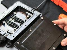 Caja de terminación de fibra DFE100