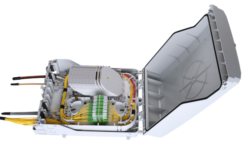 Cajas Polaris para terminación de fibra óptica