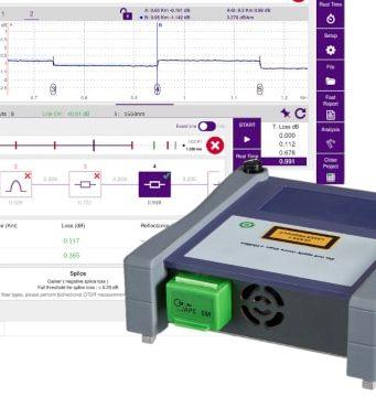 Módulos 4100 compatibles con OTDR