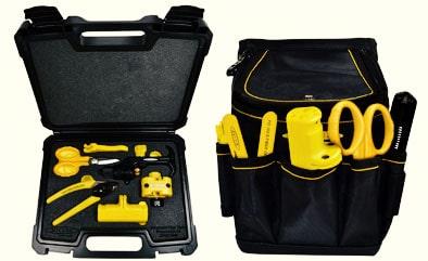 Kits de herramientas MA03 para preparación de fibra óptica