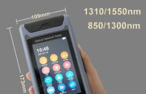 "ST3200F Mini OTDR con pantalla táctil de 4.3"""