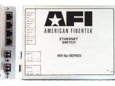 Switch MX-6p compacto 100/1000 Mb con PoE